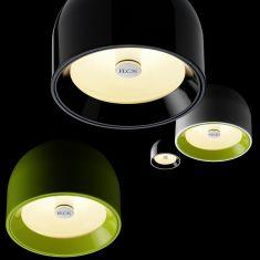 Moderner Design Deckenspot Wan von Flos - 4 Farben