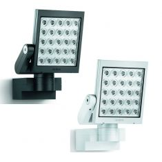 Moderner LED-Außenwandstrahler aus Kunststoff - inklusive LEDs - in zwei Farben