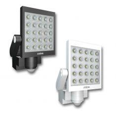 Moderner LED-Außenwandstrahler mit Infrarot-Sensor - inklusive LEDs - erhältlich in zwei Farben