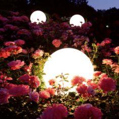 Moonlight Kugelleuchte mit Eingrabsockel
