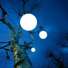 Moonlight Kugel-Pendelleuchte - IP54