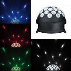 Party-Events: Licht-Halbkugel mit LED-Technik und Farbwechsel-Lichteffekten