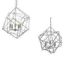 Pendelleuchte Cube - 3- oder 5-flammig