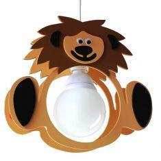 Pendelleuchte fürs Kinderzimmer mit niedlichem Löwen Leo