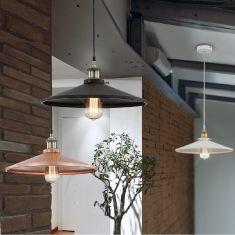 Pendelleuchte Knud, inklusive Edison Glühbirne