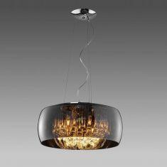 Elegant Pendelleuchte Mit Kristallbehang, 40 Cm Oder 50 Cm Wählbar Design Ideas