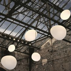 Pendelleuchte Outdoor Gregg Sospensione Bianco - von Foscarini - 3 Größen