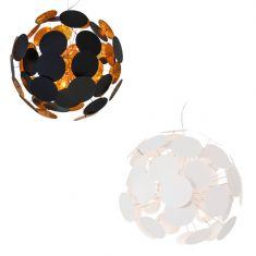 Pendelleuchte Planet 65 cm Durchmesser - Weiß oder Schwarz