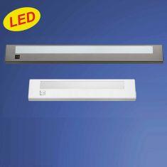Praktische LED-Anbauleuchte - Kunststoff - Inklusive Schalter - LED inklusive - 2 Farben - 2 Größen