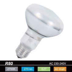 R80 Reflektor 30° Abstrahlwinkel, 40W, E27