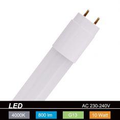 Retrofit-Leuchtmittel - LED-Röhrenlampe - Sockel G13 - 10 Watt - 800 Lumen 1x 10 Watt, 10 Watt, 800,0 Lumen, 600,00 mm