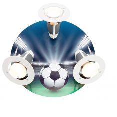 Rondell Fußball, 3 Spots - Motiv  Arena blau/bunt, Arena