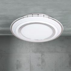 Runde LED-Deckenleuchte Nancy
