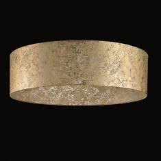 Runder Lampenschirm - Blattgold  60 cm
