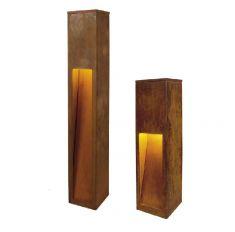 Wegeleuchte Rusty Slot 50cm 50,00 cm