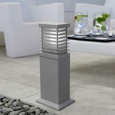 schlagfeste Pollerleuchte IK08, IP44 aus Aluminium mit hohem Reinheitsgrad, 2 Farben verfügbar