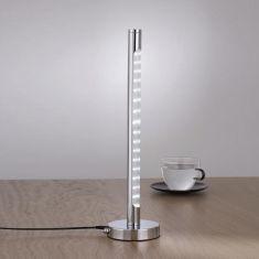 Schreibtischleuchte Tower in chrom mit 1x6W  LED -Leuchtmittel