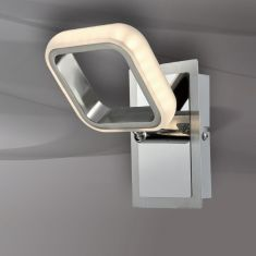 Schwenkbare LED-Wandleuchte Nero - 1 flammig