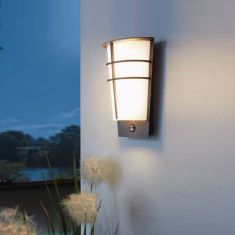 Sensor LED Außenwandleuchte Breganzo 1