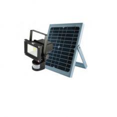 SENSOR und SOLAR LED-Akkustrahler  10 Watt