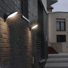 Sensor-LED-Wandleuchte aus Aluminiumguss mit Bewegungsmelder