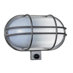 Sensor-Wandleuchte aus Edelstahl, Acrylglas