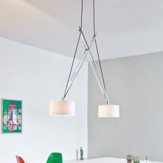 Serien-Lighting Design-Pendelleuchte Twin in 2 Farben