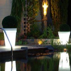 Shining Pot beleuchteter Blumentopf