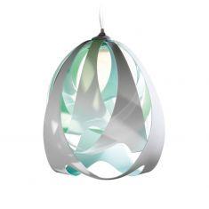 Slamp Designer Pendelleuchte Goccia Ø30cm - Aqua blau/grün/weiß