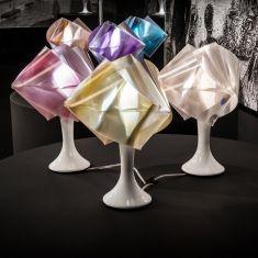 Slamp Tischleuchte Gemmy Prisma Color in vielen Farben