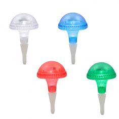 Solar LED-Dekoleuchte -Pilz - Kunststoff - 4 Farben