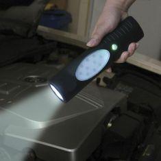 Solar-Multifunktionslampe  mit  Solarpanel -   als wichtiger Helfer beim Camping , im Haushalt etc.