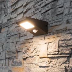Solar-Sensor - LED Wandleuchte Fiona