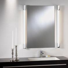 Spiegelleuchte Romano 600 in Chrom, 60 cm