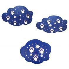 Sternchenwolke mit LED, Sternenhimmelfunktion, 3 Größen