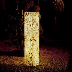 Säule aus Naturschiefer für den Außenbereich 25cm hoch