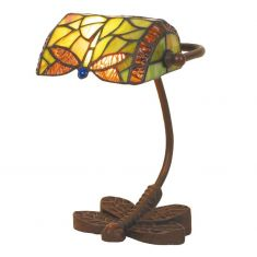 Tiffany Bankers-Lamp, Breite 19 Höhe 25cm