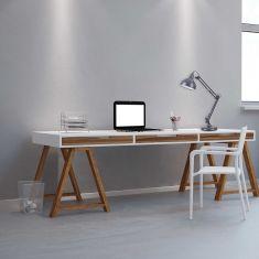 Tischleuchte Dave im Industrie Design
