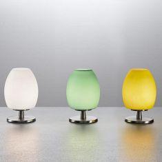 Tischleuchte mit Touchdimmer, verschiedene Farben