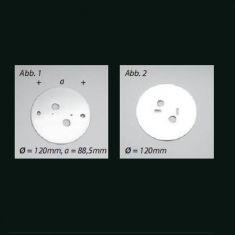 Top Light Abdeckplatte zur Deckenleuchte Dela - 2 Oberflächen