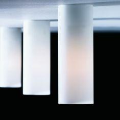 Top Light Deckenleuchte Dela mit Mattglas