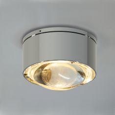 Top Light LED Wand- oder Deckenleuchte Puk One 2 Chrom
