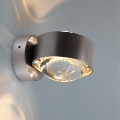 Top Light Puk Wall LED 2 x 8 Watt Chrom matt silber, Chrom matt
