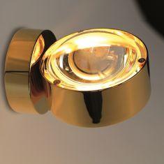 Top Light Wandleuchte Puk Wall in 24 Karat vergoldet gold, 24 Karat  vergoldet