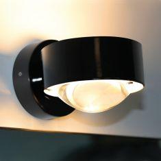 Top Light Wandleuchte Puk Wall in Schwarz schwarz