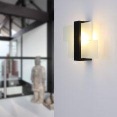 Wandleuchte Feniks 1 Holz Wenge  inkl. LED