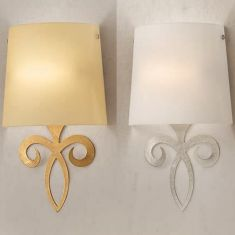 Wandleuchte im Florentiner Stil - Silber oder Gold