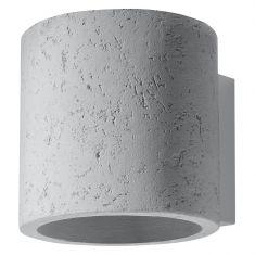 Wandleuchte  Orbis Beton inklusive G9 LED-Leuchtmittel