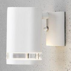 Wandstrahler Downlight in Weiß weiß