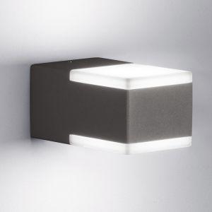 Up & Down LED-Außenwandleuchte mit 2 x 4W LED in zwei Farben